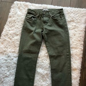 7 for all Mankind Green Pants